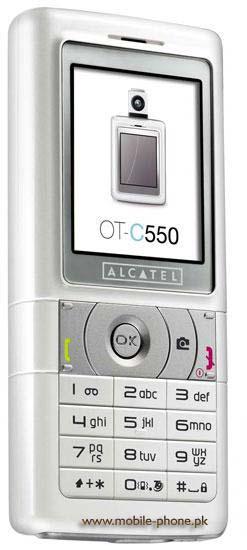 Alcatel OT-C550 Price in Pakistan