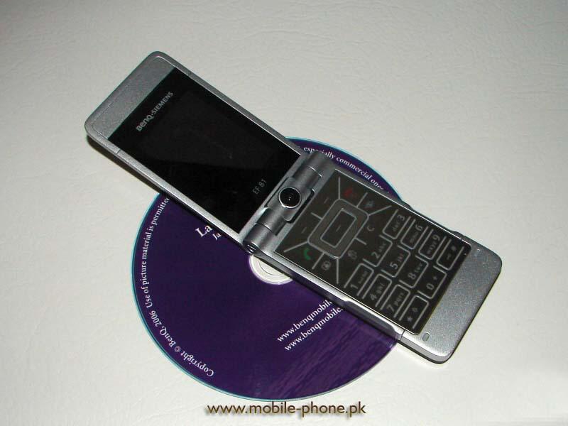 BenQ-Siemens EF81 cell phone photo