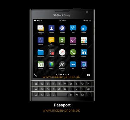 BlackBerry Passport Mobile Pictures - mobile-phone pk