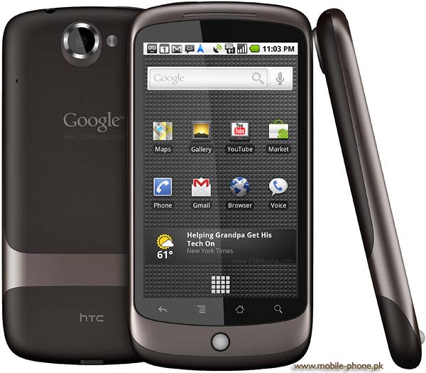 HTC Google Nexus One Mobile Pictures - 56.2KB