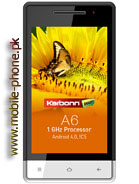 Karbonn A6 Price in Pakistan