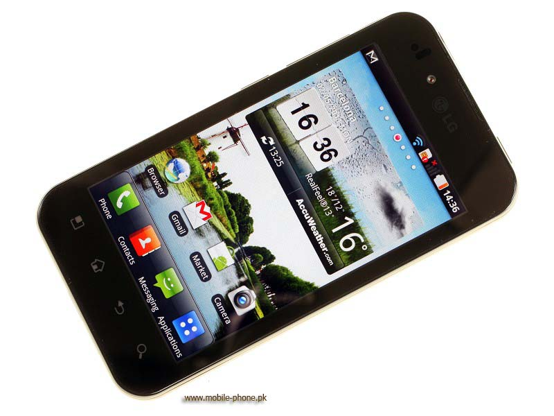 mobile pic of LG Optimus Black