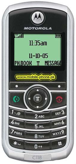 Motorola C118 Price in Pakistan