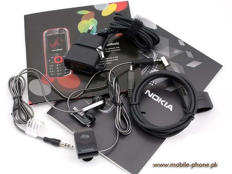 nokia 5320 xpressmusic cell phone photo