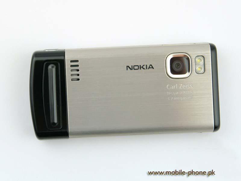Nokia 6500 slide cell phone photo