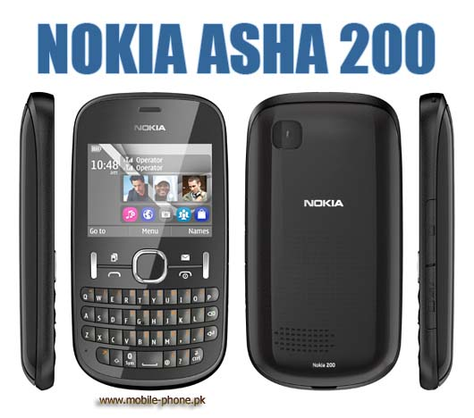 Nokia Asha 200 Mobile Pictures - mobile-phone.pk