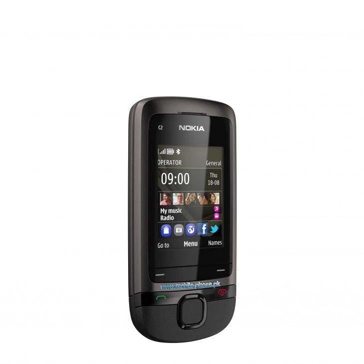 Nokia C2-05 cell phone photo