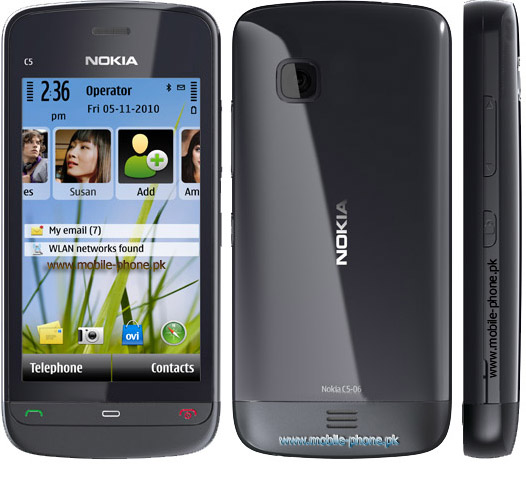 Nokia C5-06 Mobile Pictures