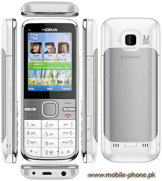 Nokia C5 Mobile Pictures - mobile-phone.pk