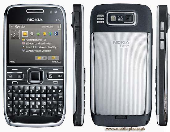 Nokia E72 Price in Pakistan