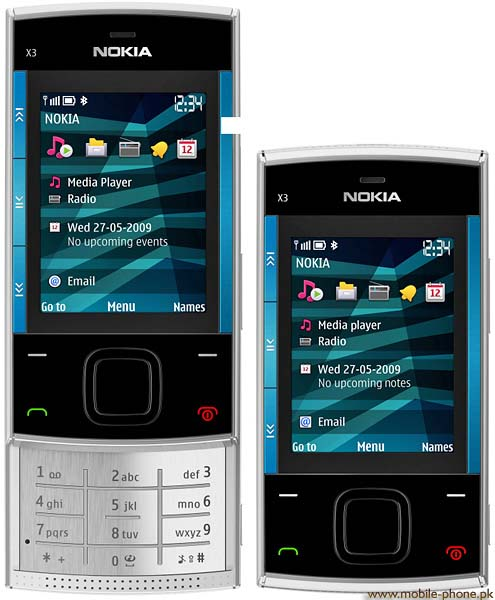 Wallpapers For Mobile Nokia 2690. Nokia X3 mobile picture