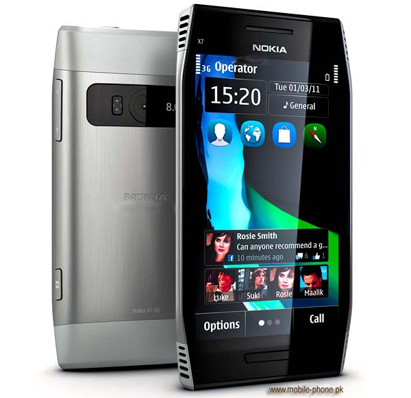 Nokia X7-00 Mobile Pictures - mobile-phone.pk
