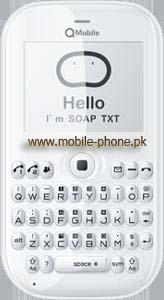 Qmobile Q6 handset picture