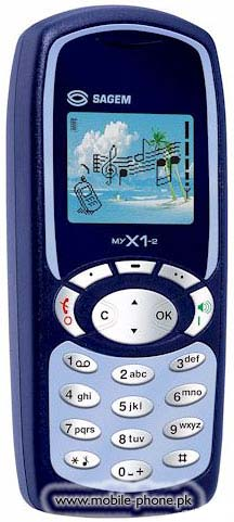 Sagem MY X1-2 Price in Pakistan