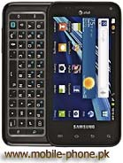Samsung Captivate Glide Pictures
