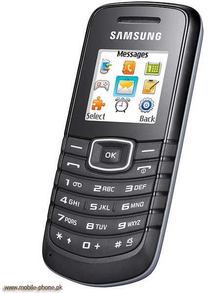 Samsung E1087 Mobile Pictures