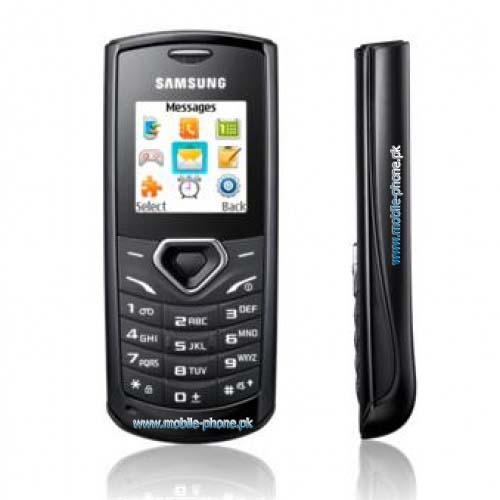 Samsung E1175 Mobile Pictures - mobile-phone.pk