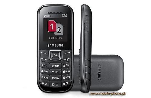 Samsung E1207T Mobile Pictures