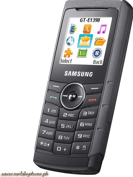 Samsung E1390 Mobile Pictures