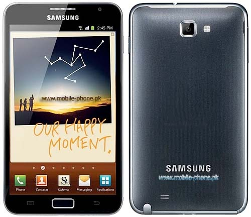 Note N7000 vs Note 2 Galaxy Note N7000 Picture 2
