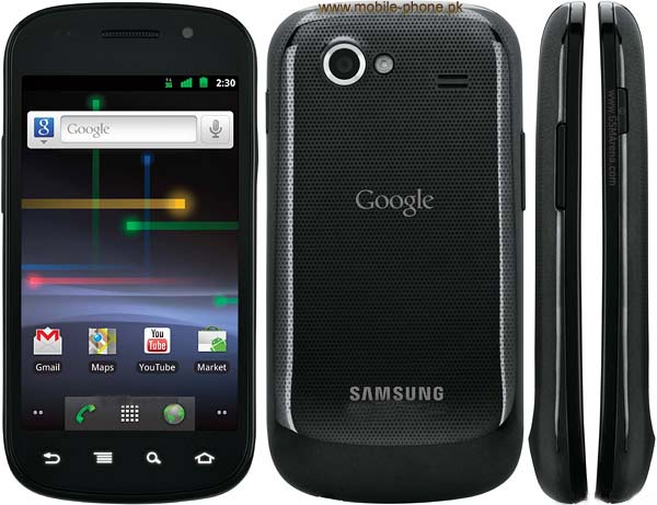 Samsung Google Nexus S Mobile Pictures - 56.0KB