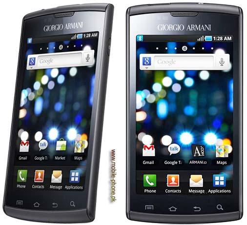 bfe88ce55b0 Samsung I9010 Galaxy S Giorgio Armani Mobile Pictures - mobile-phone.pk