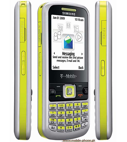 Samsung T349 Mobile Pictures - mobile-phone.pk