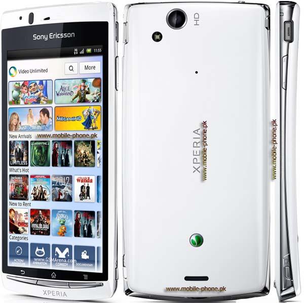 Sony Ericsson Xperia arc S cell phone photo