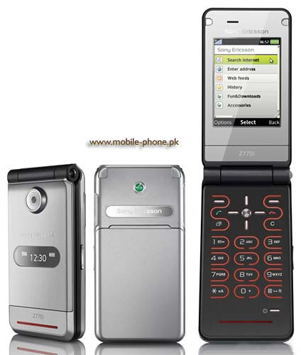 Sony Ericsson Z770 Price in Pakistan