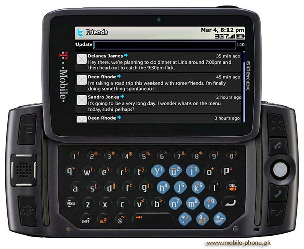 T-Mobile Sidekick LX 2009 Price in Pakistan