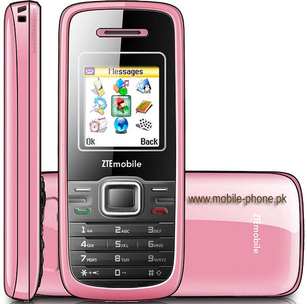 ZTE S213 Mobile Pictures - mobile-phone.pk