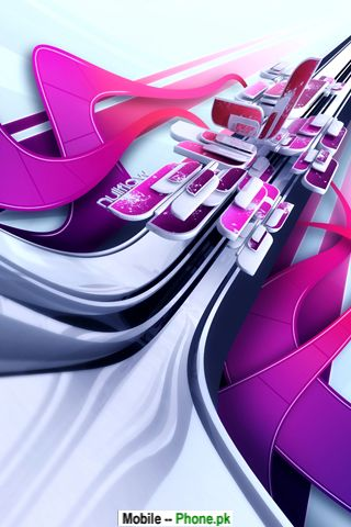 3D Animated Background Logo Wallpaper for Mobile
