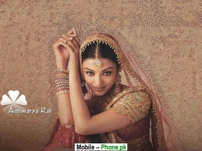 Aishwariya Rai In Wedding Dress Wallpapers Mobile Pics