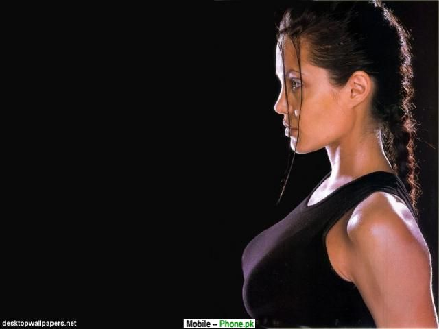 angelina jolie lara croft wallpaper