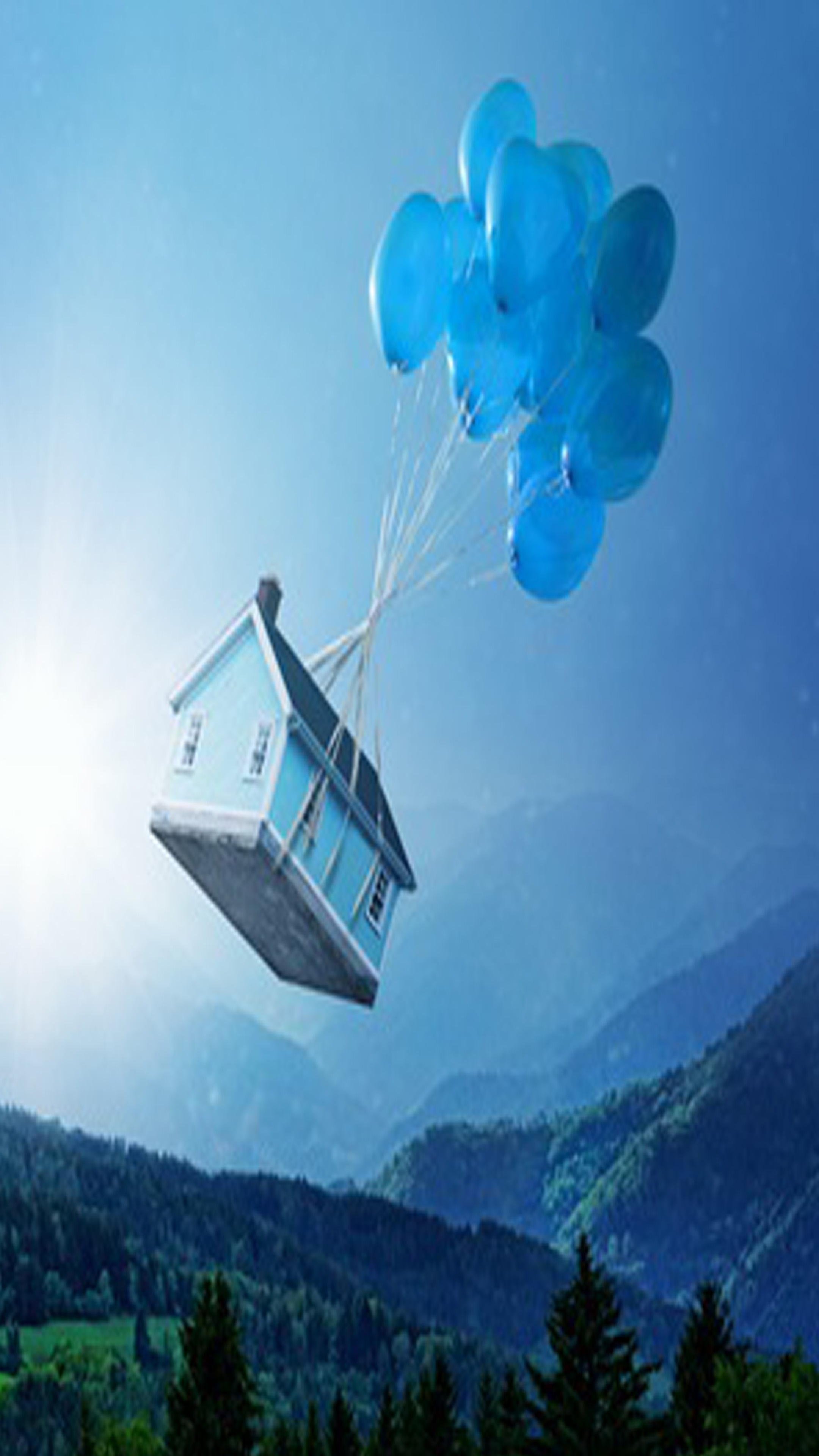balloon_floating_house_computers_mobile_wallpaper.jpg