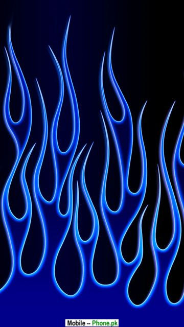 animated blue flame