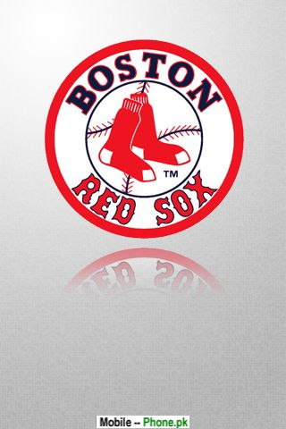 Boston Red Sox Logo Sports Mobile Wallpaper