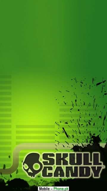 Green Skullcandy Hd Mobile Wallpaper