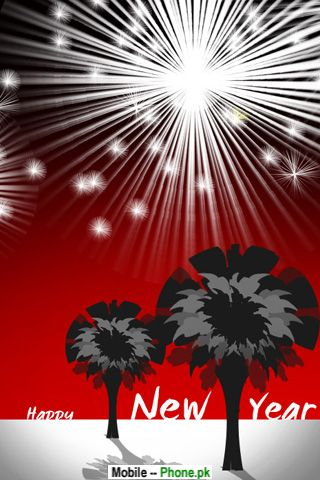 happy new year 2010 mobile wallpaper details