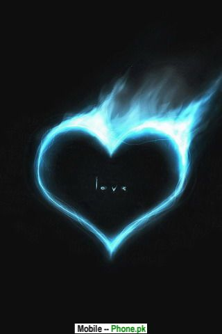 Heart smoke Wallpaper for Mobile