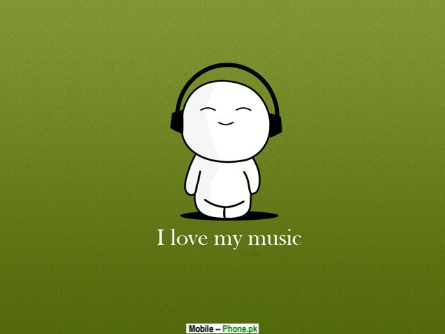 Love Wallpaper For My Mobile : I love my music Wallpapers Mobile Pics