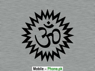 Om symbol Wallpaper for Mobile