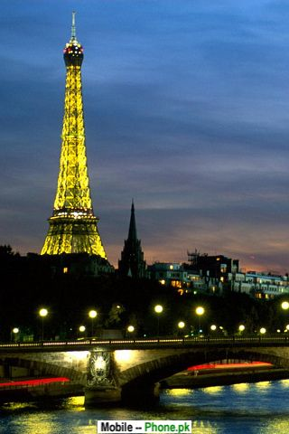 paris tower wallpapers mobile pics. Black Bedroom Furniture Sets. Home Design Ideas