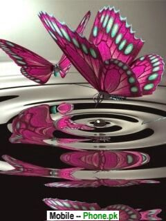 Pinkbutterflywallpapernaturemobilewallpaper