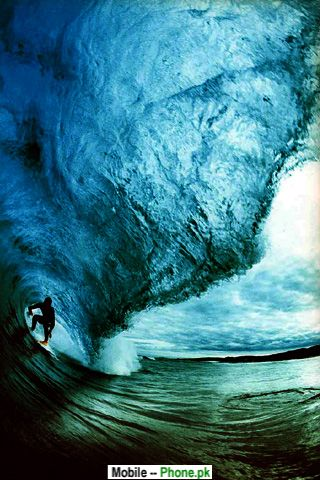 Pipeline waves Wallpapers Mobile Pics