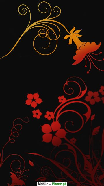 Red flower background images Wallpapers Mobile Pics