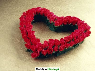 Red Rose Heart Wallpapers Mobile Pics