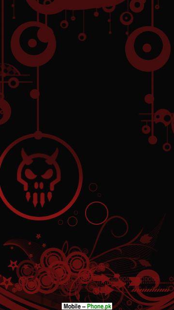 Red Skull Background Hd Mobile Wallpaper