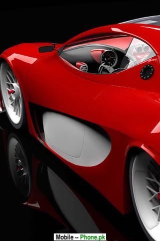 Red Sports Car Wallpapers Mobile Pics