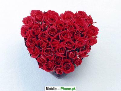 wallpaper heart rose. Rose Heart Wallpaper for